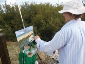 2015-onlocation-outdoorpainting-PhilippaRobert-AdelaideSouthAustralia-onlocatiojn
