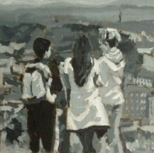 2015-people at play-Philippa Robert-Calton Hill, Edinburgh