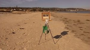 June beach painting-seascapes-Philippa Robert-Adelaide South Australia