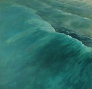 exhibition preparation-seascapes-Philippa Robert-Breaking point-seascapes-wave paintings-Philippa Robert-Adelaide South Australia