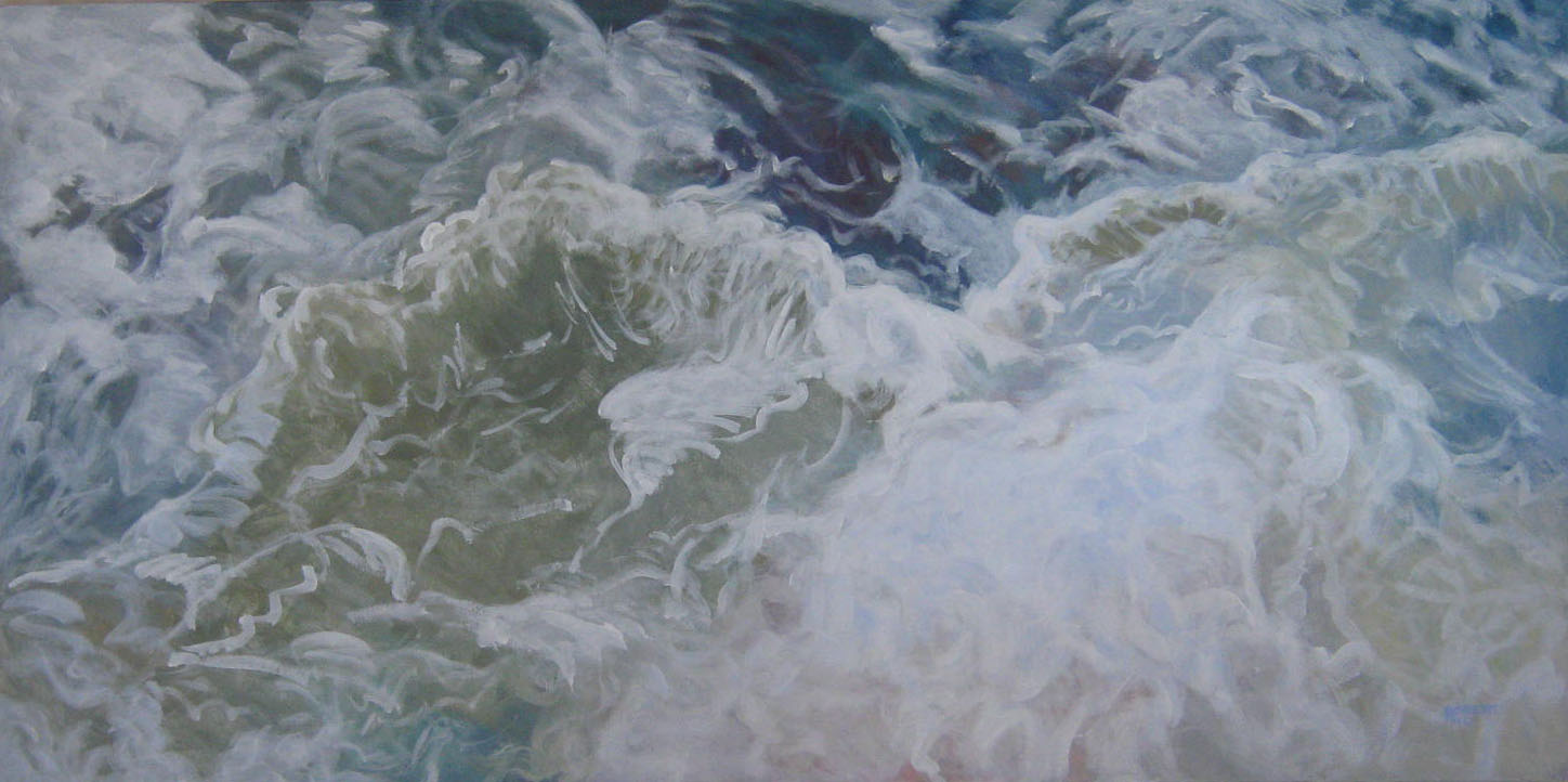 2010-seascapes-Philippa Robert-Adelaide South Australia-North Sea 1