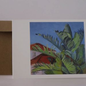 Greeting card-Brighton Bananas=PhilippaRobert AdelaideSouthAustralia