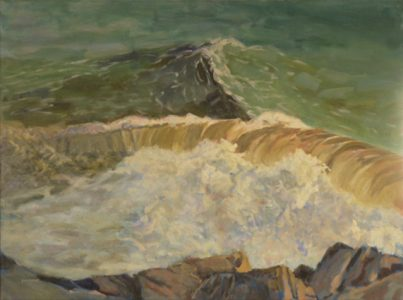 2017-x-seascapes-wave paintings-Philippa Robert-Adelaide South Australia-Stormy Wash