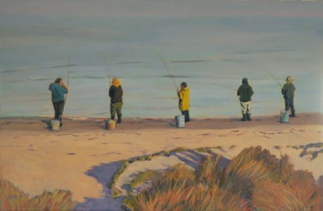 2015-x-seascapes-wave paintings-Philippa Robert-Adelaide South Australia-Men at Play