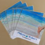 2017-microfibre cleaning cloth-Philippa Robert-Adelaide South Australia-At sea level