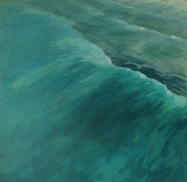 large-seascapes-Philippa Robert-Breaking point-seascapes-wave paintings-Philippa Robert-Adelaide South Australia