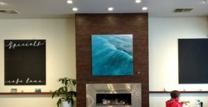 exhibition preparation-seascapes-Philippa Robert-Cafe Lune-feature painting.jpgSMLR