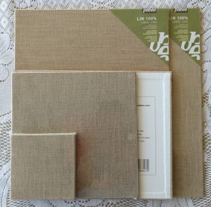painting supports-linen panels-Philippa Robert-Adelaide South Australia