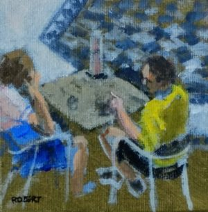 cafe paintings-Philippa Robert-Adelaide South Australia-2018-one more thing