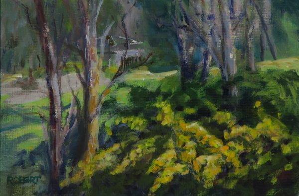 Wattle Coro Valley unframed