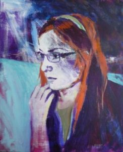 children's portraiture-time capsule-Philippa Robert-Adelaide South Australia-teenage girl