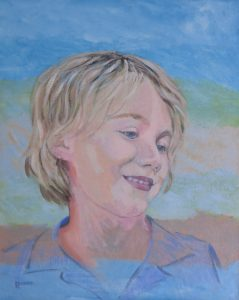 children's portraiture-time capsule-Philippa Robert-Adelaide South Australia