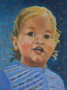 children's painted portraits-Philippa Robert-Adelaide South Australia-2018-PW