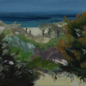 Happy seascape-outdoor painting-Philippa Robert;-Adelaide South Australia
