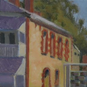 O'Connell Street, North Adelaide-outdoor painting-Philippa Robert-Adelaide South Australia